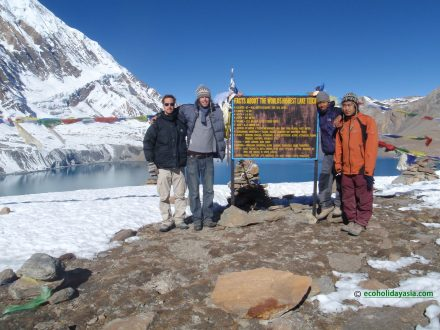 Annapurna Circuit tre with Rilicho Lake - Eco Holidays Asia