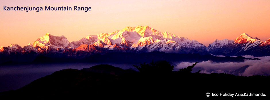 Kanchenjunga Mountain Range -Eco Holiday Asia