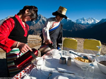 Mount Everest Heli Breakfast Tour